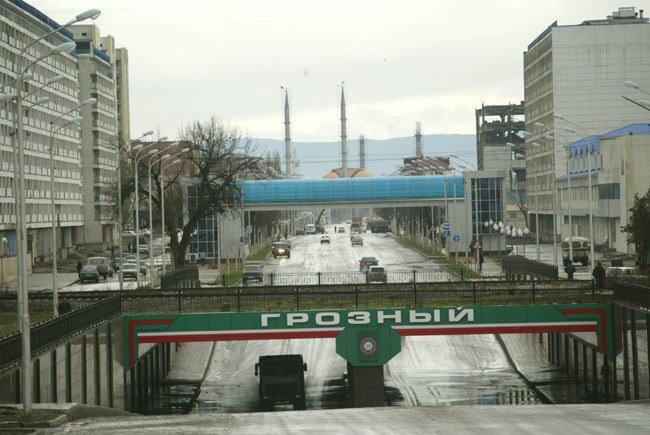 from Minutka, Lenin Street, Грозный