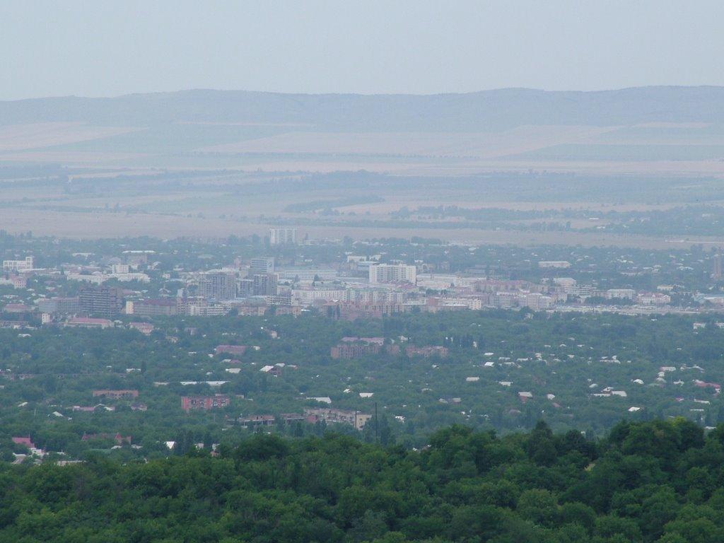 Центр Грозного, Грозный