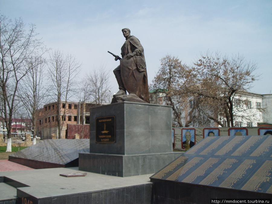 Малгобек. Мемориал малгобекцам павшим в боях за Родину, Малгобек