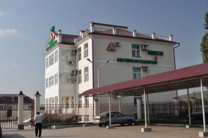 Малгобек. Офис компании Ингушнефтегазпром, Малгобек