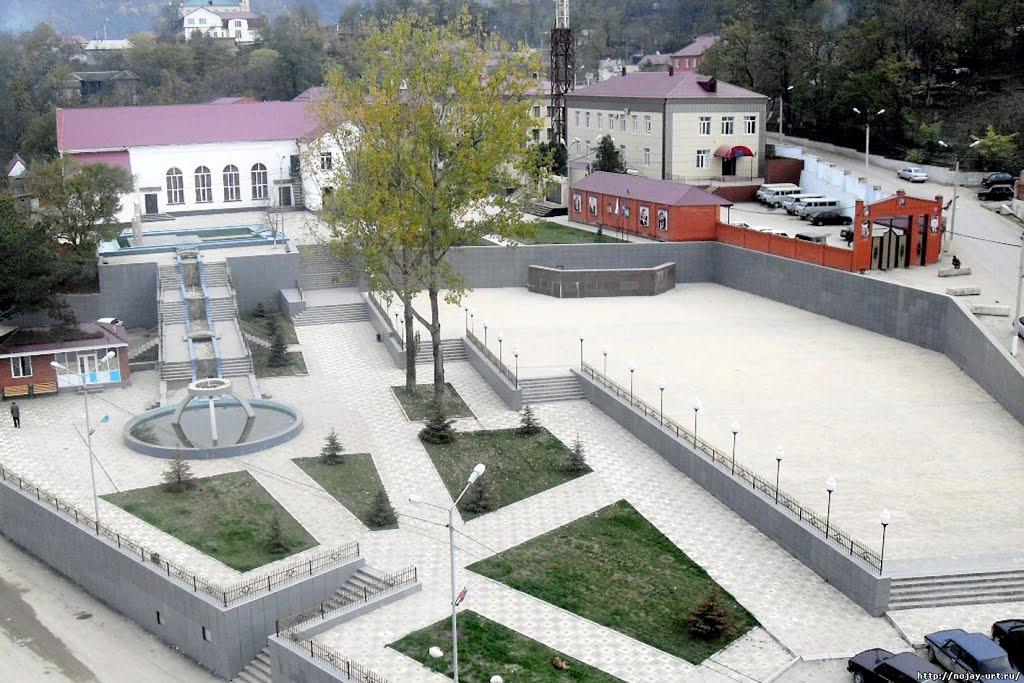 Ножай-Юрт. Центр села, Ножай-Юрт