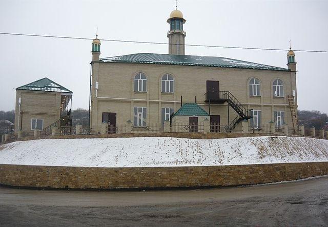 Mosque in Noji-Kort, CHECHENIA, Ножай-Юрт