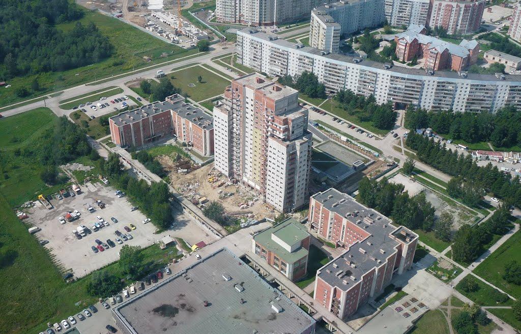 Стройка в Краснообске, Советское