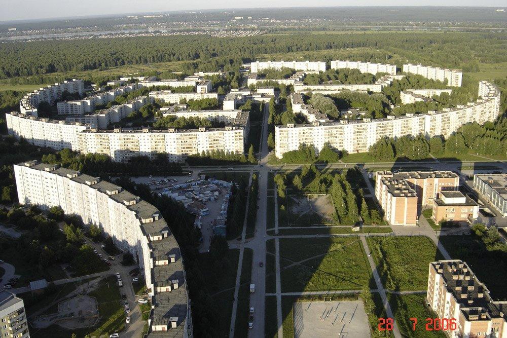 Krasnoobsk, Советское