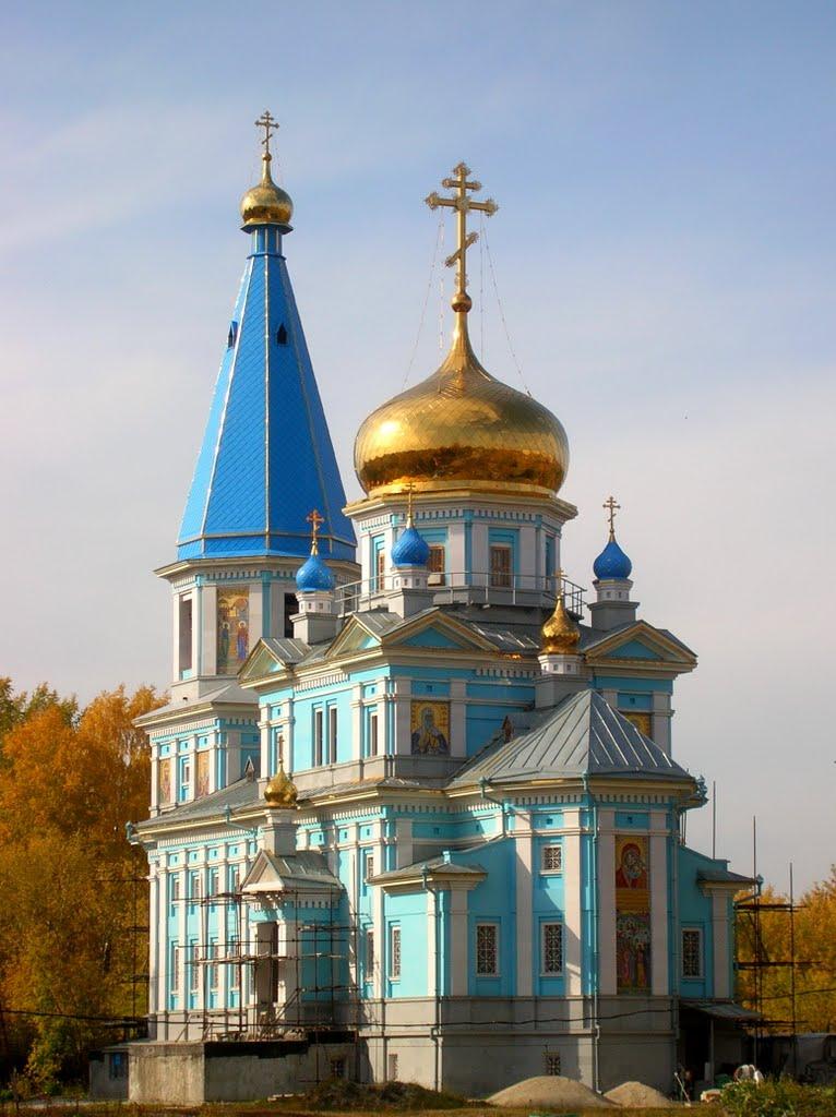 Церковь Иконы Божией Матери Казанская., Советское