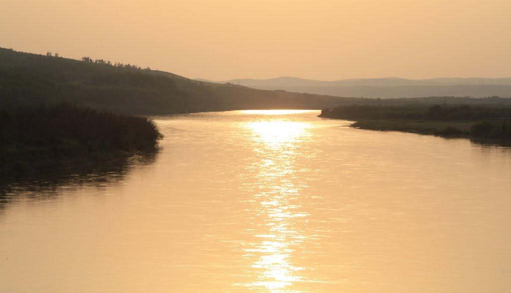 Закат над Шилкой, Арбагар