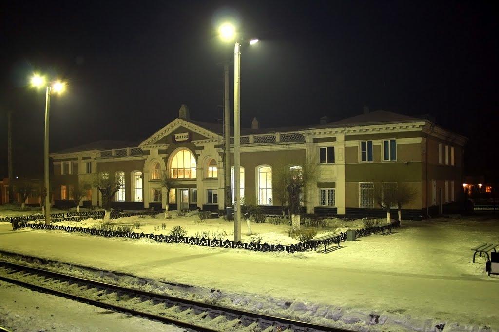 Вокзал ст. Борзя, Борзя