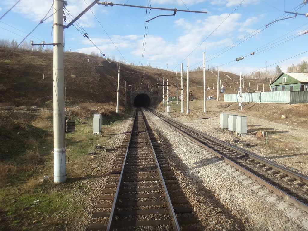 Кендагирский тоннель, Западный портал, Давенда