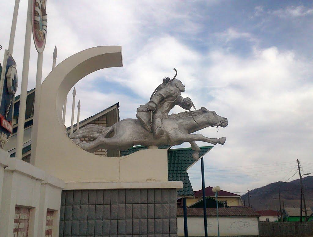 Бурятский всадник  Buryat rider, Дульдурга
