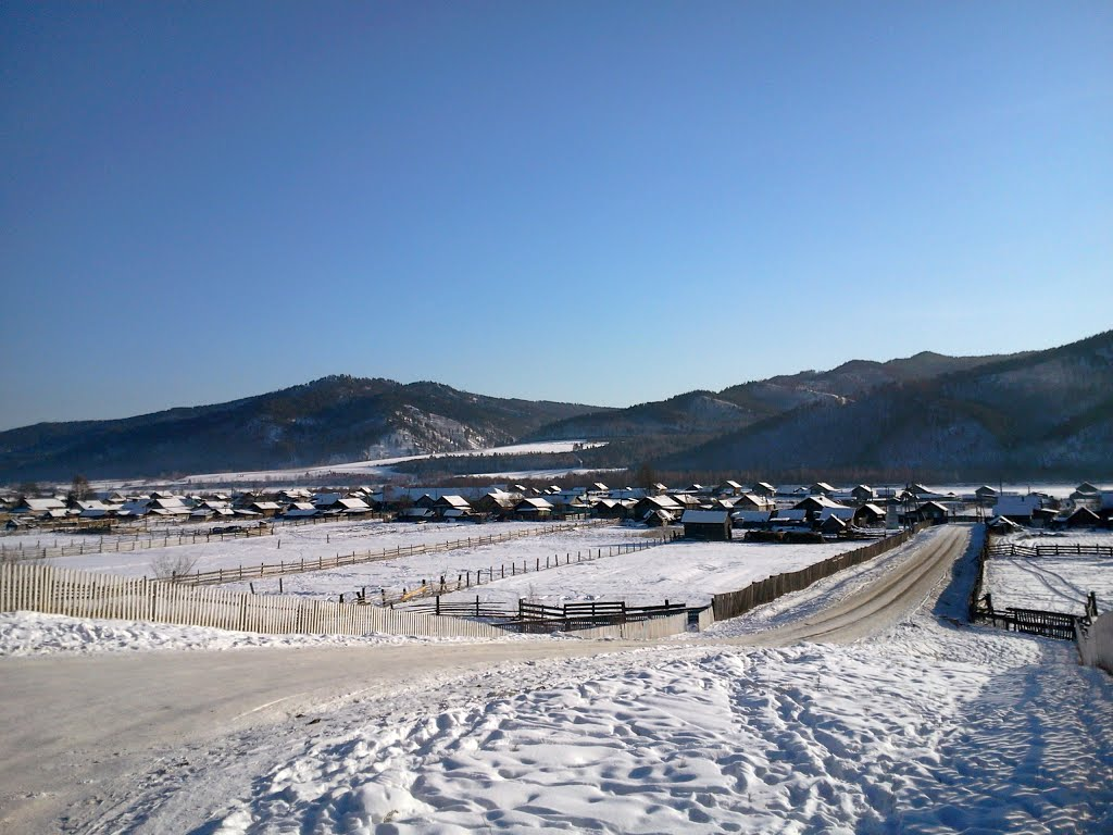 Российская глубинка   село Жиндо Russian remote, Жиндо