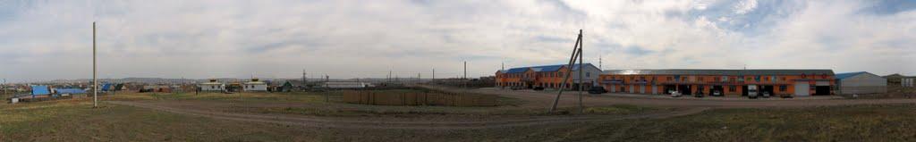"""пгт. Забайкальск, гостиница """"Дуэт"""" и СТО, 21.06.2011, Забайкальск"""