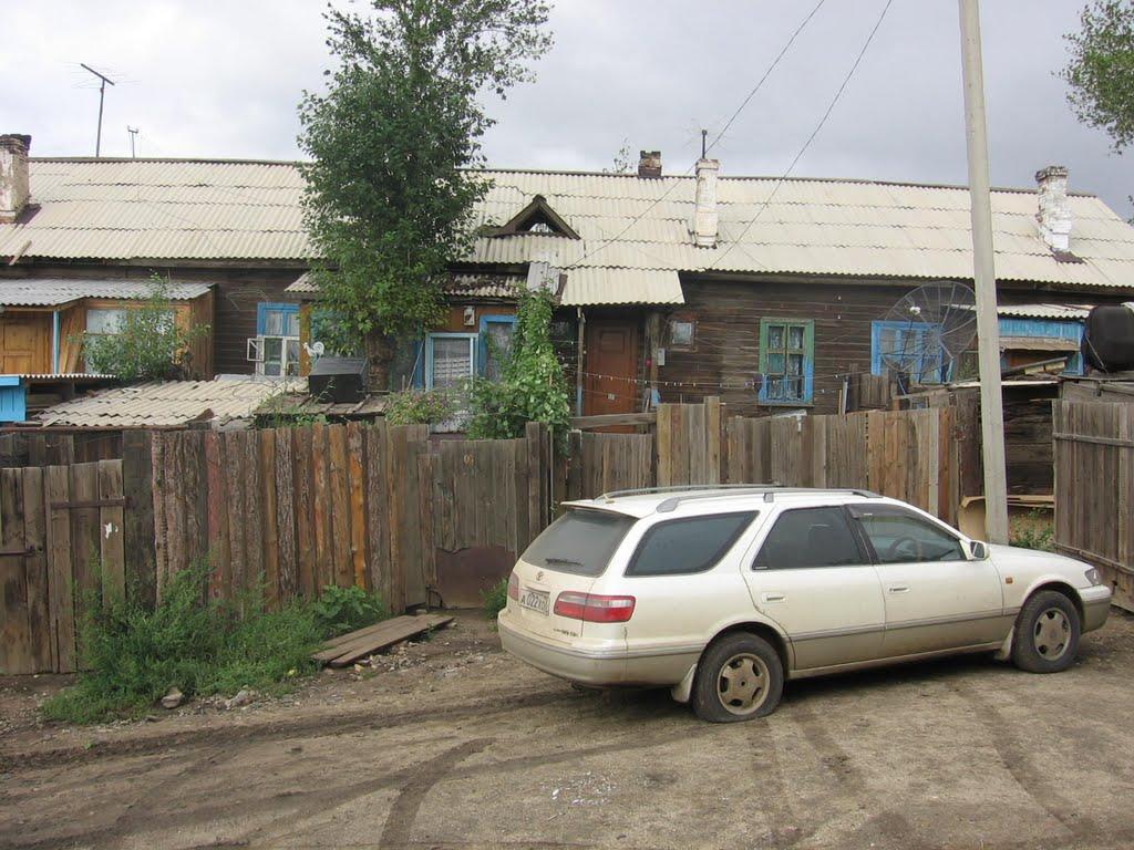 Дом-деревяшка., Забайкальск