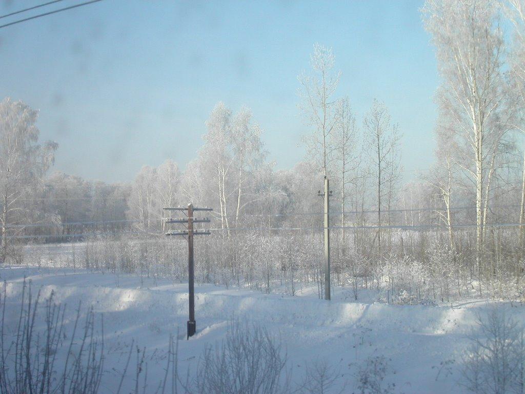 забайкальская природа,зима, Итака