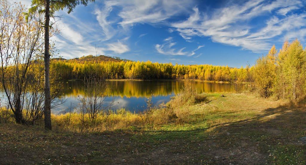 Озеро Первая драга, Итака