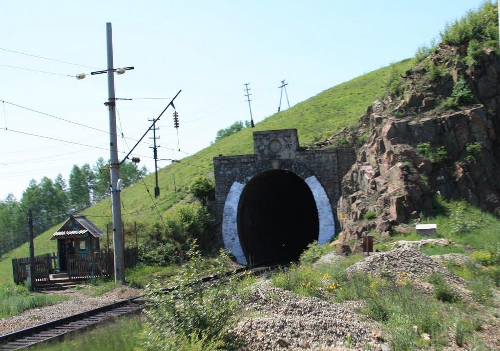 Артеушинский тоннель (120м) 6855км Транссиба, Итака