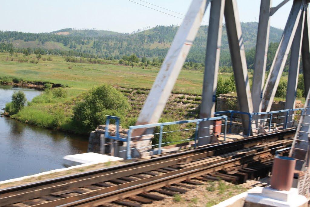 Мост через р.Ундурга 6713км, Итака