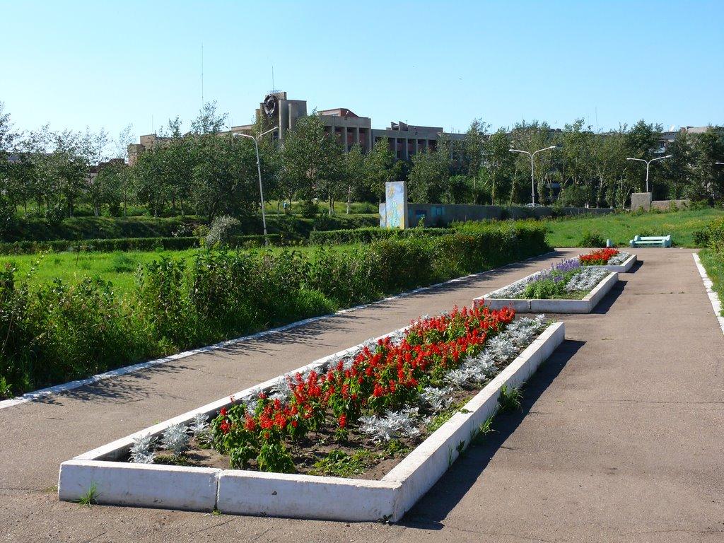 На площади Покровского, Краснокаменск