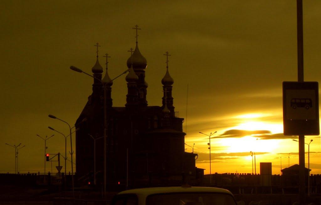 Вечер церковка, Краснокаменск