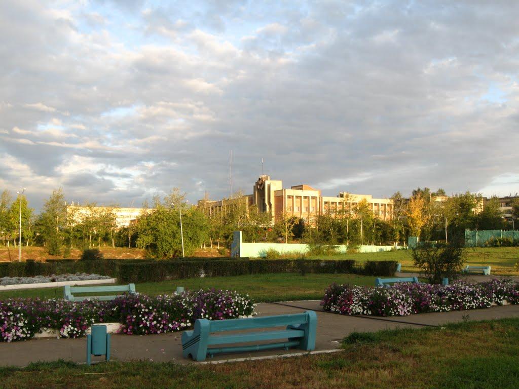 парк Покровского, Краснокаменск