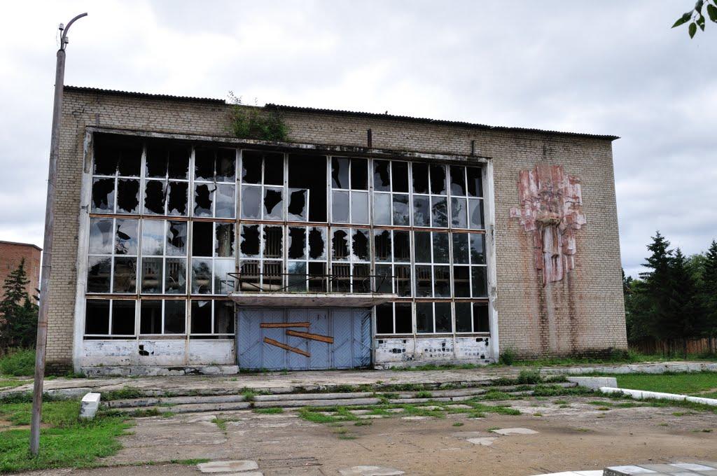 Дом Культуры в с. Красный Чикой (03.08.2010) - Recreation center in village Red Chikoj, Красный Чикой