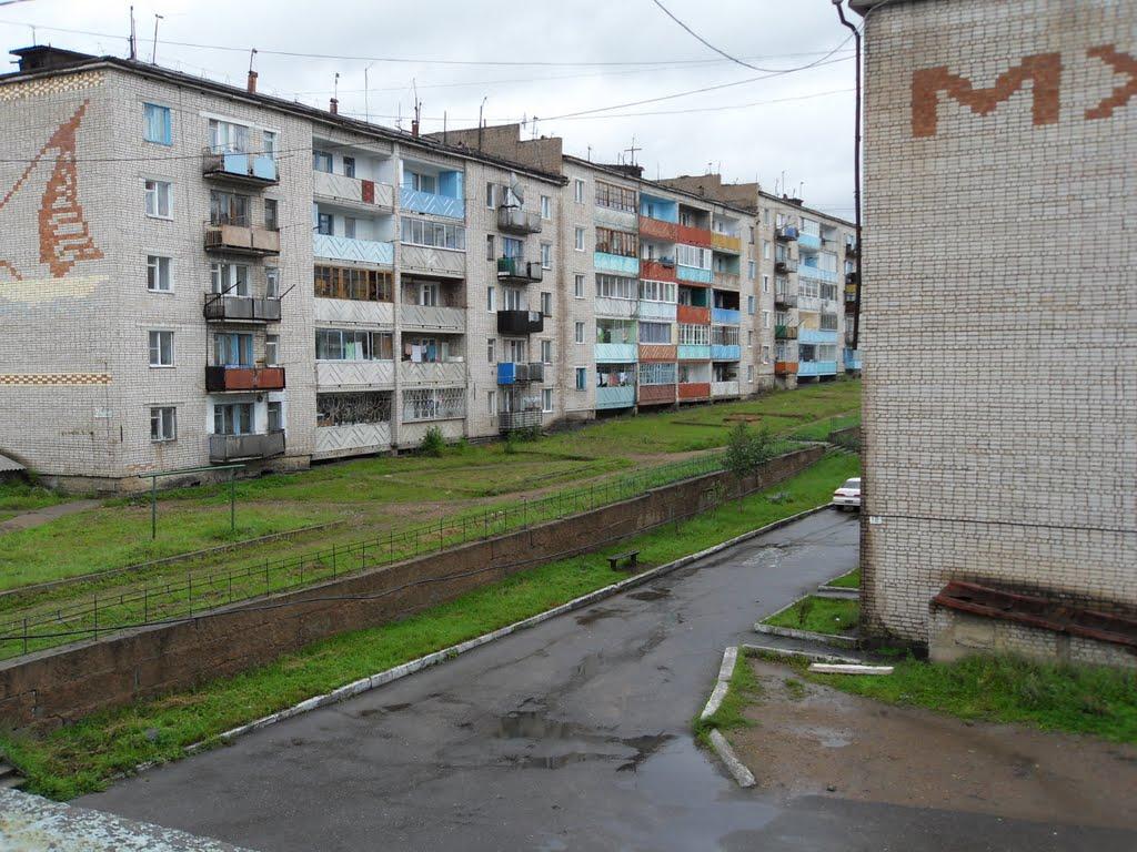 вид с балкона, Могоча