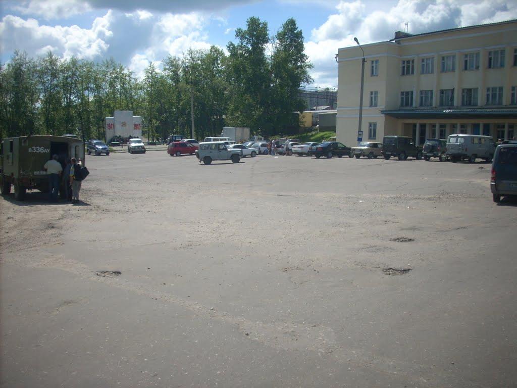 Привокзальная площадь, Могоча