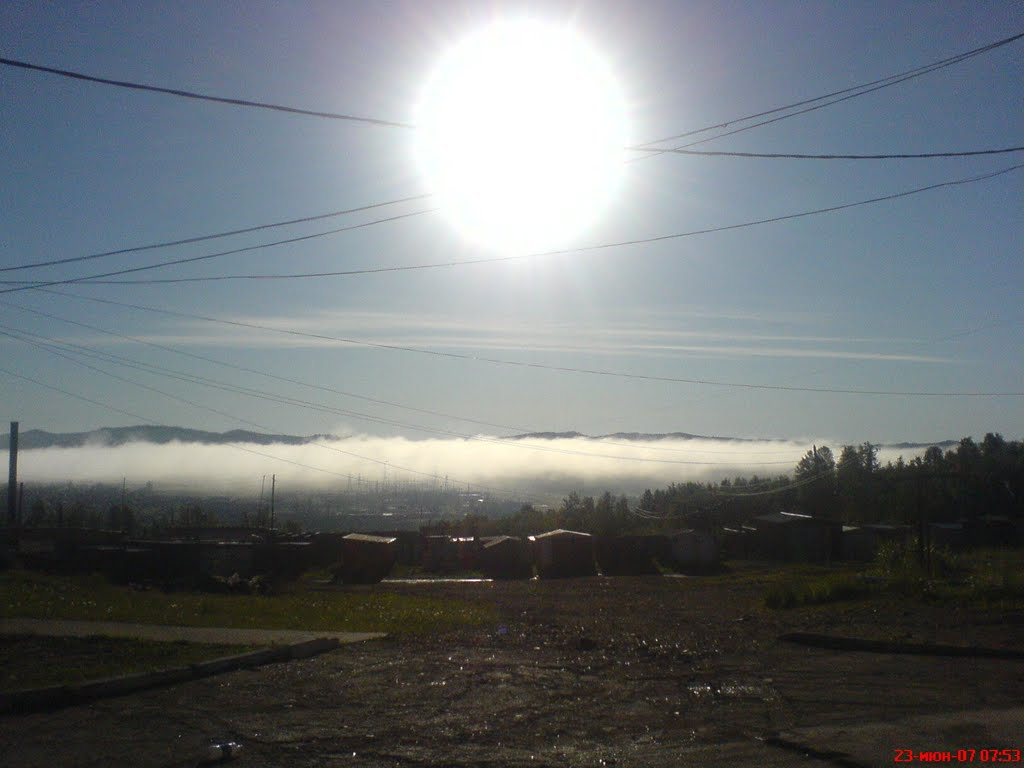 Утро в Могоче, Могоча