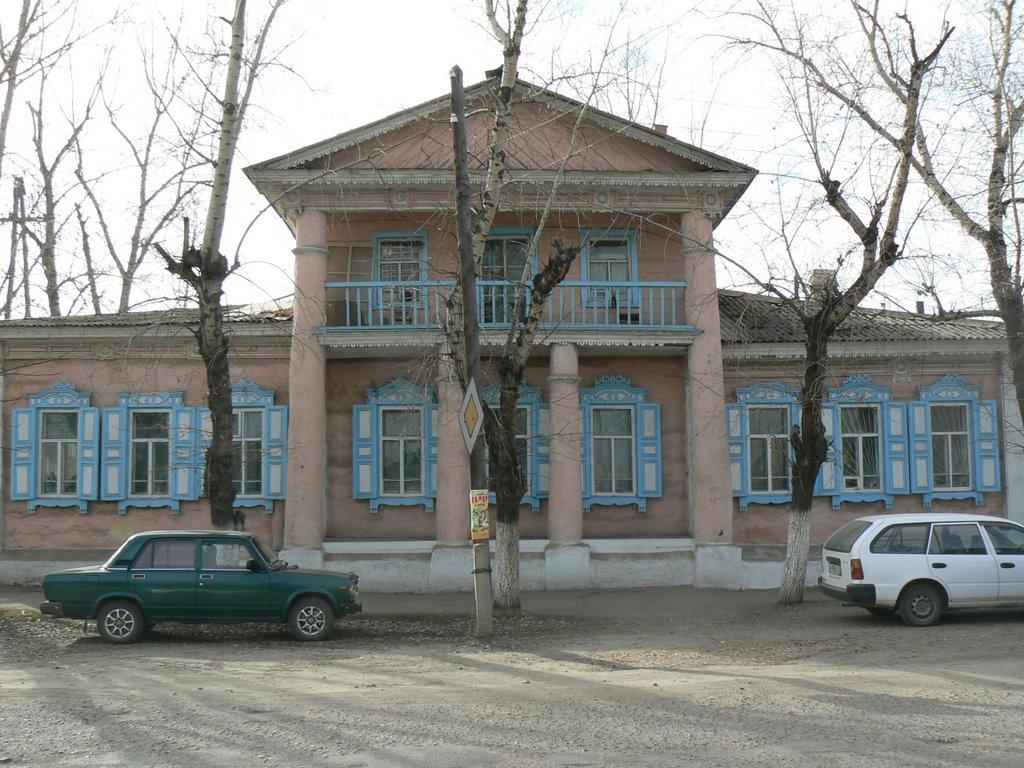 Дом Чехова, Нерчинск