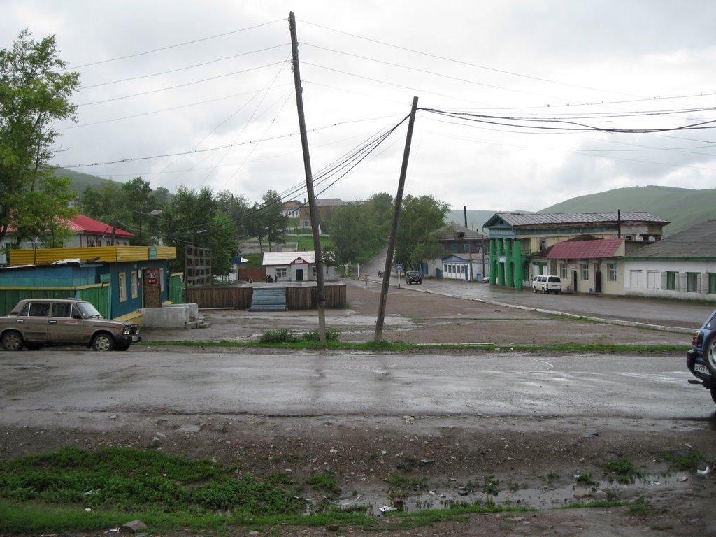 =) главная площадь, Нерчинский Завод