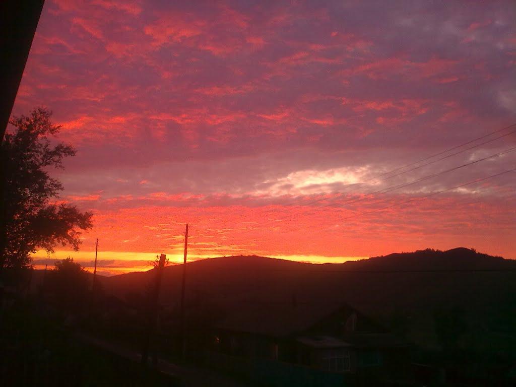 закат, Нерчинский Завод