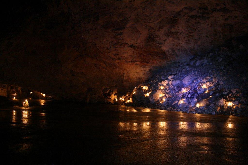 Большой грот ледяной пещеры, Нижний Часучей