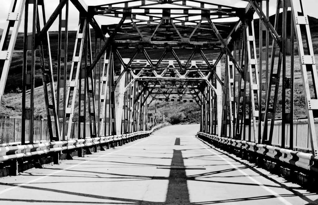 BRIDGE OVER ONON - мост через онон, Нижний Часучей