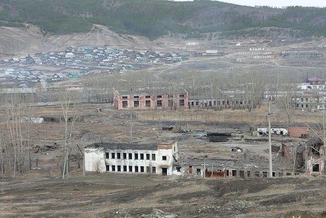 Остатки завода, Петровск-Забайкальский