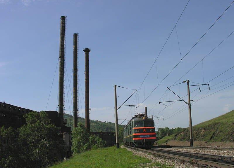 Транссиб вдоль завода, Петровск-Забайкальский