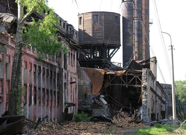 Руины завода 2, Петровск-Забайкальский