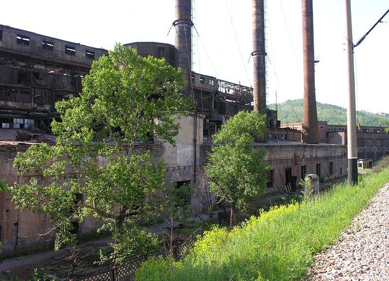 Руины завода 3, Петровск-Забайкальский