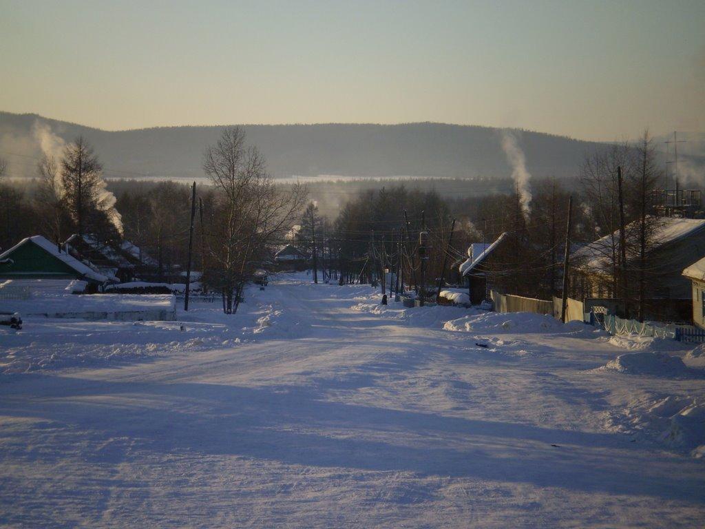 Tupik  december  27 ,2008 .temperature -47 C, Тупик