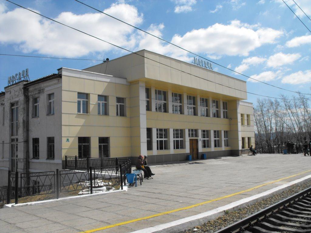 FC. Transiberiano. Estación Mogocha. Rusia, Тупик