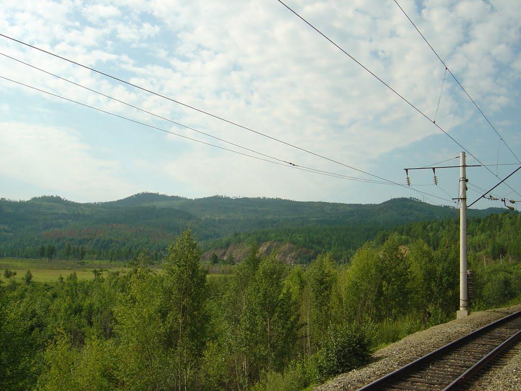 Забайкальская тайга, трансиб, Тупик