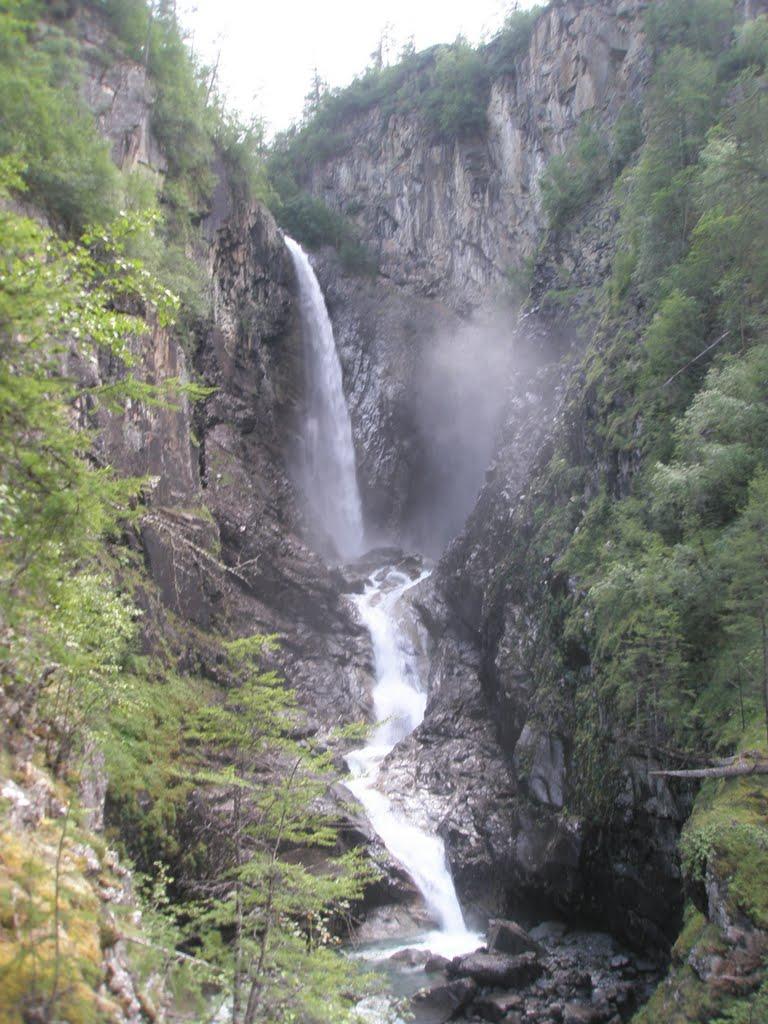 Водопад на р.Экса, Чара