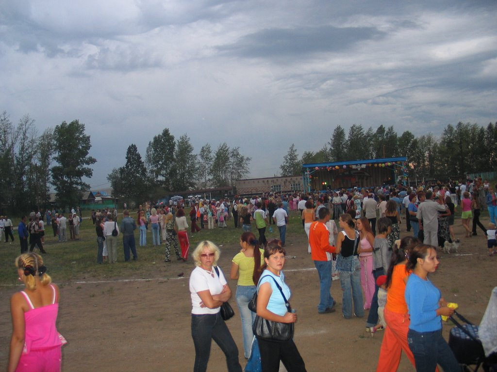 На стадионе, Чернышевск