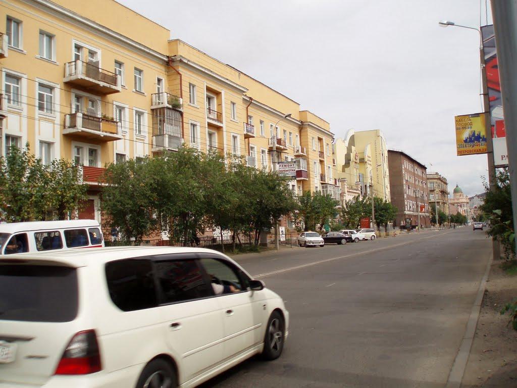 Улицы Читы, Чита