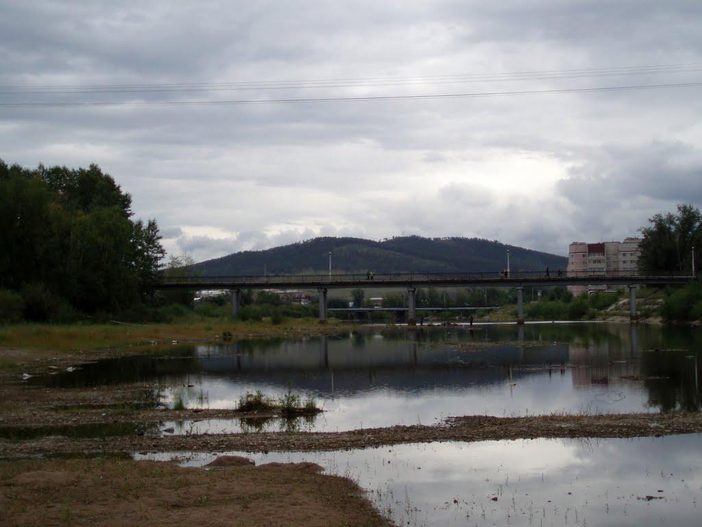 речка Читинка, Чита
