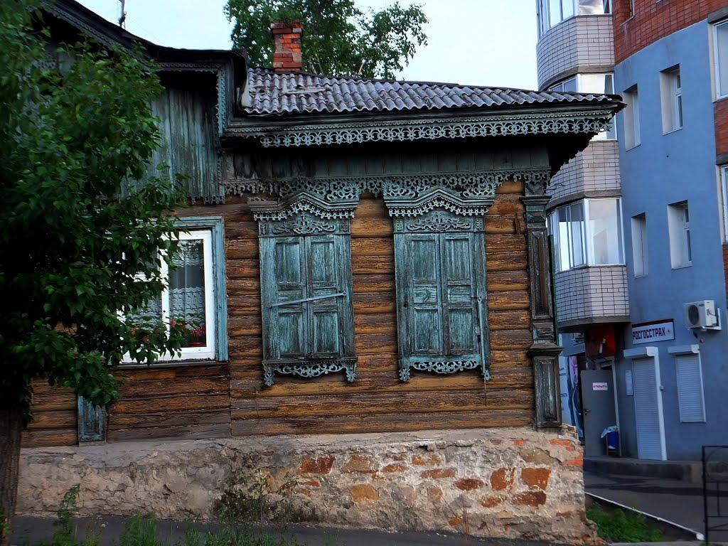 На перекрестке ул. Бабушкина и ул. 9 января, Чита
