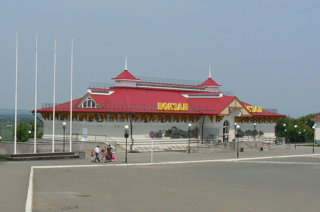 Алатырский ж/д вокзал 2007, Алатырь
