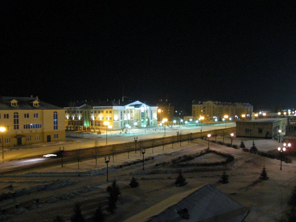 ночной Канаш, Канаш