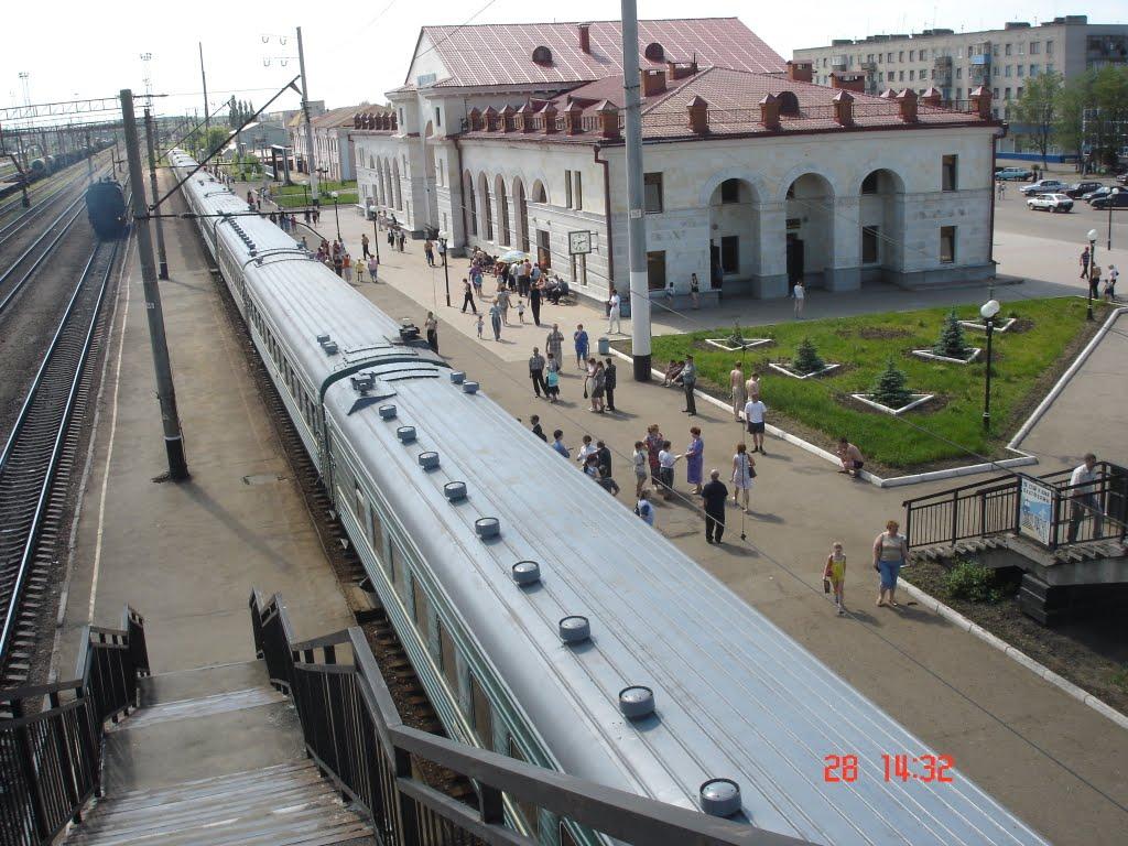 жд вокзал, Канаш