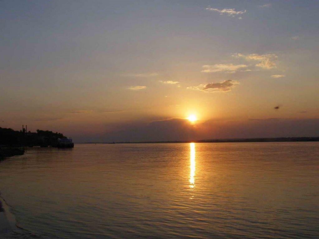 Закат, Мариинский Посад
