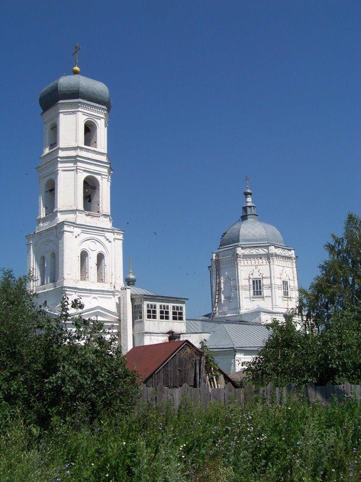 MarPosad Церковь Казанской Божией Матери в Мариинском Посаде, Мариинский Посад