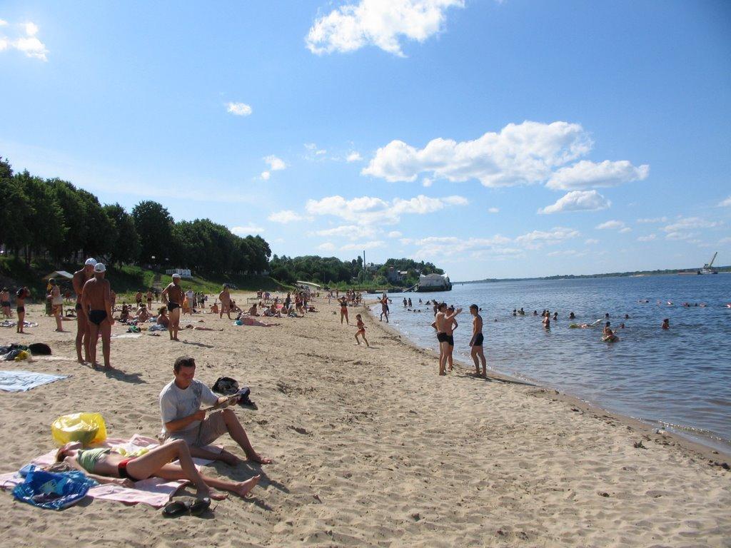 Пляж, Мариинский Посад